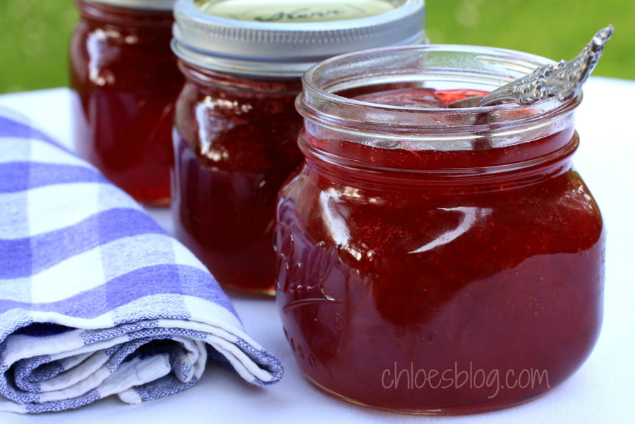 Tasty Strawberry Jam recipe from Chloe at Big Mill | bigmill.com