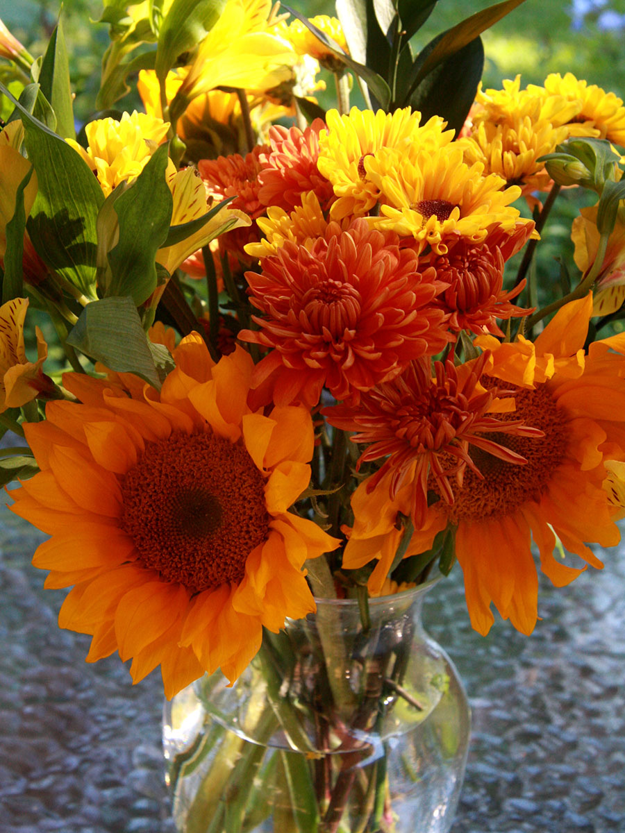 Sunflower-fall-arrangement